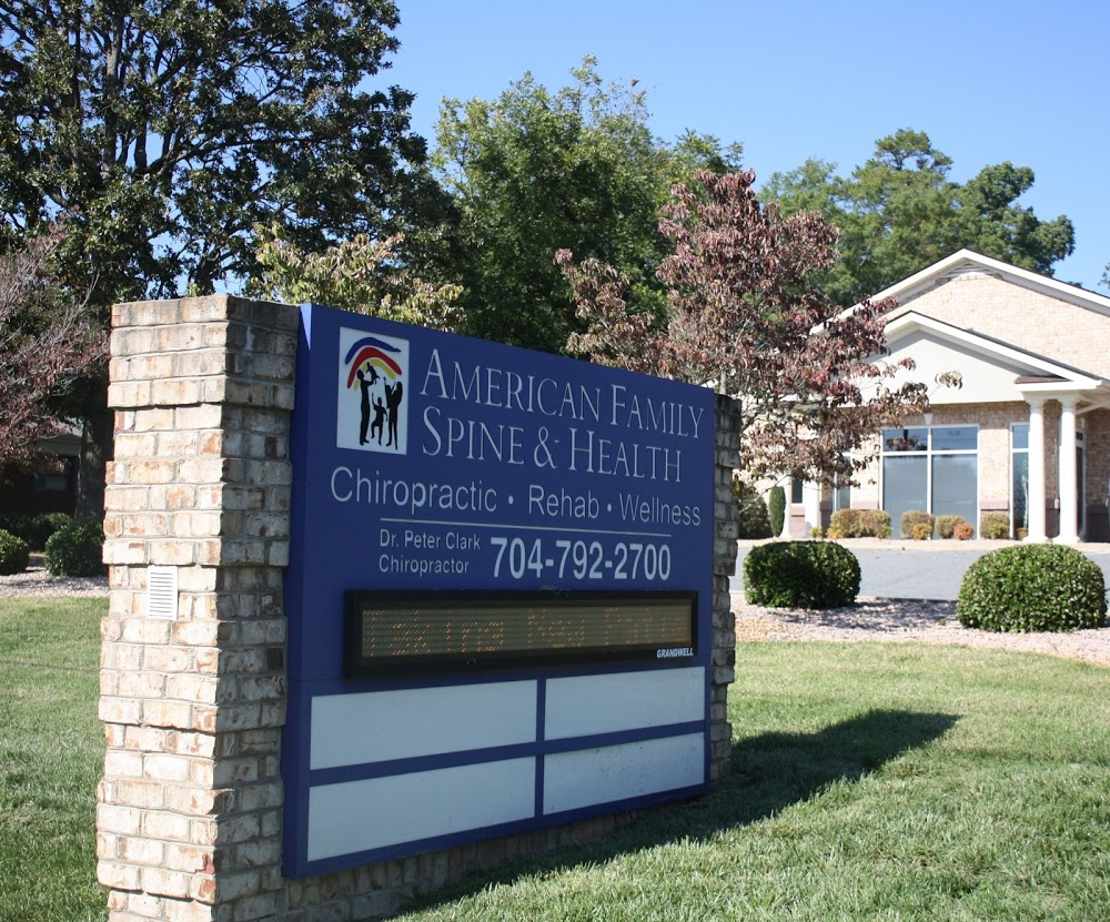American Family Spine and Health llc, Concord NC Chiropractor