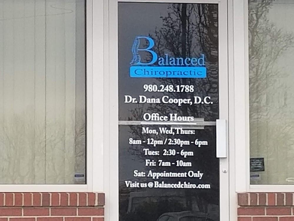Balanced Chiropractic Concord/Kannapolis